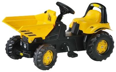 TRATTORE A PEDALI DUMPERKID JCB ROLLY TOYS