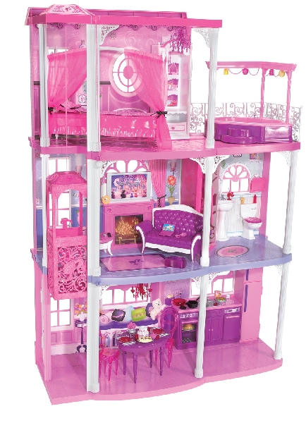 LA CASA GLAM DI BARBIE