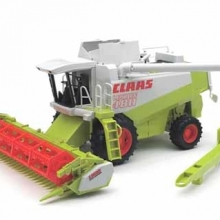 BRUDER 02120 MIETITRICE CLAAS