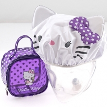 HELLO KITTY MINI BEAUTY CON CUFFIA BAGNO VIOLA
