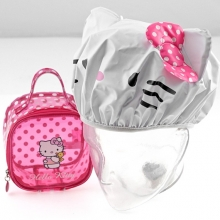 HELLO KITTY MINI BEAUTY CON CUFFIA BAGNO PINK