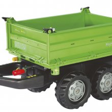 RIMORCHIO MEGA TRAILER VERDE DEUTZ ROLLY TOYS