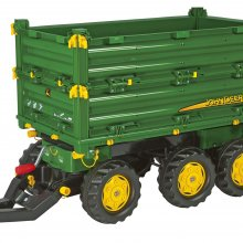 RIMORCHIO MULTITRAILER 3 ASSI J.DEERE ROLLY TOYS