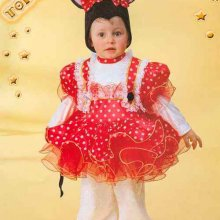 COSTUME CARNEVALE BABY TOPOLINA 0/1 FANCY MAGIC