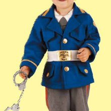 COSTUME CARNEVALE BABY POLIZIOTTO FANCY MAGIC