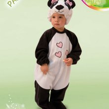 COSTUME CARNEVALE BABY PANDA FANCY MAGIC