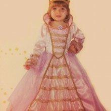 COSTUME CARNEVALE BABY PRINCIPESSA LUNA 1/2 FANCY MAGIC