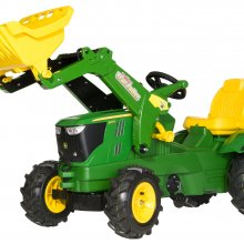 TRATTORE A PEDALI JOHN DEERE 6210 ROLLY TOYS