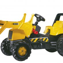 TRATTORE A PEDALI JCB TRAC BACKHOE ROLLY TOYS