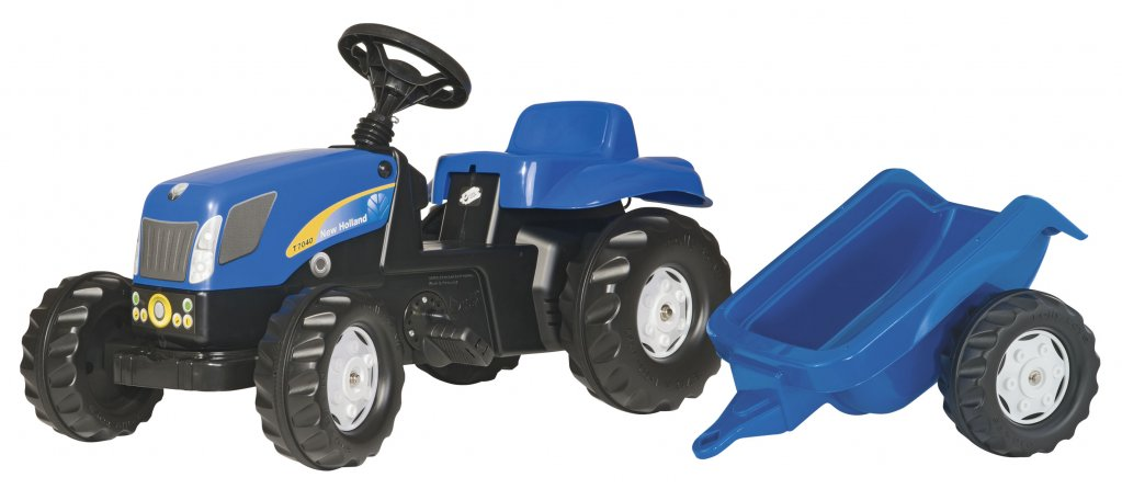 TRATTORE A PEDALI ROLLYKID NEW HOLLAND ROLLY TOYS