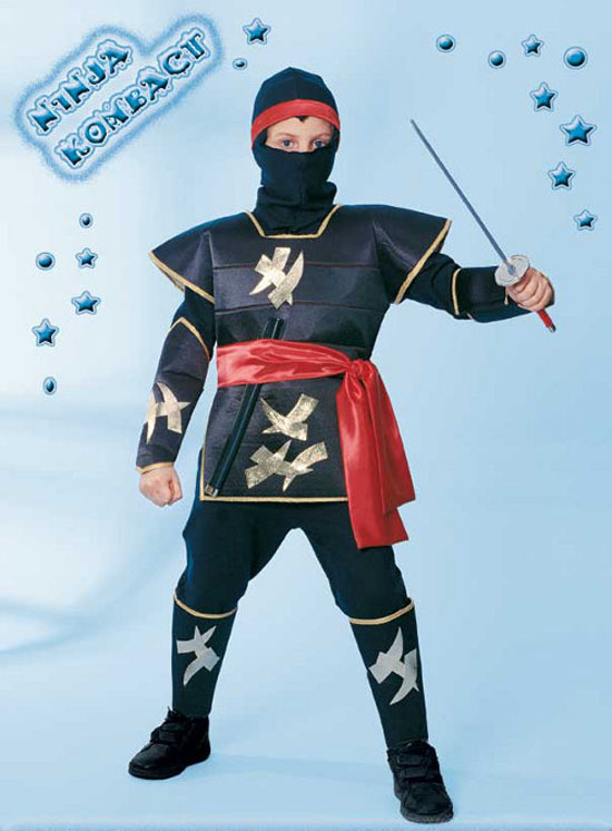 COSTUME CARNEVALE NINJA FANCY MAGIC