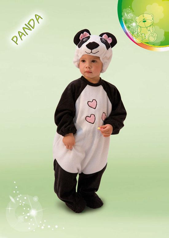 COSTUME CARNEVALE BABY PANDA FANCY MAGIC