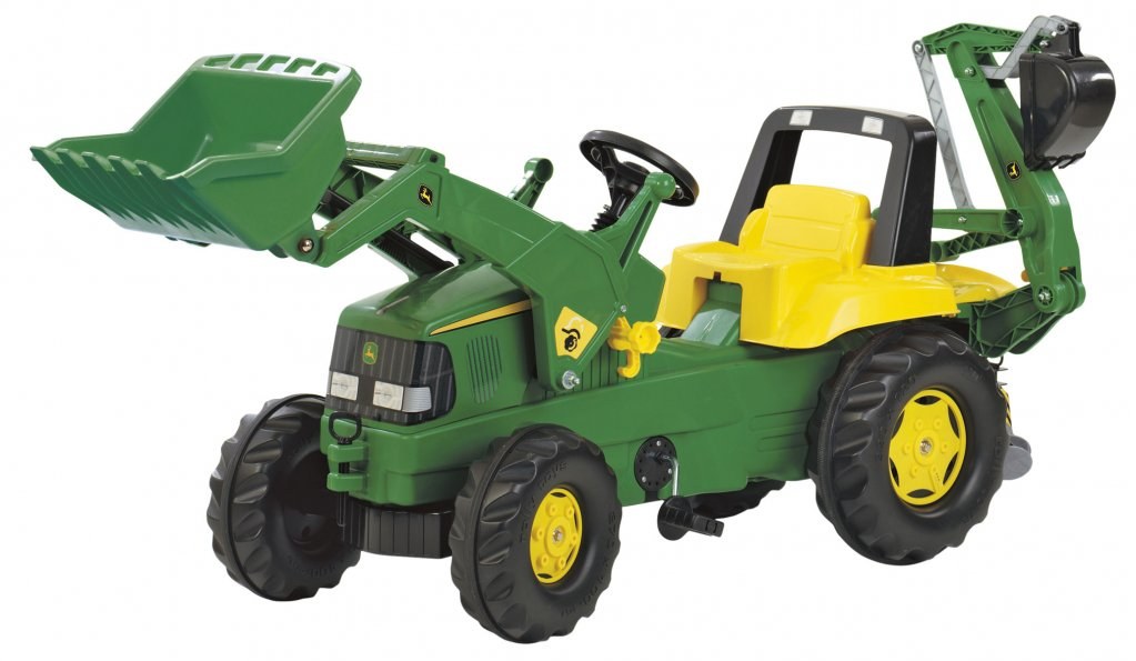 TRATTORE A PEDALI ROLLY JUNIOR JOHN DEERE ROLLY TOYS