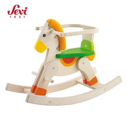 Cavallo A Dondolo In Legno.Cavallo A Dondolo Baby Sevi Trudi